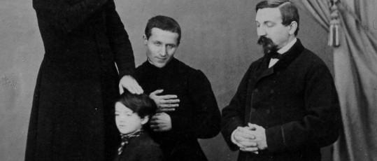 Don Bosco in Roma durante una benedizione 1867