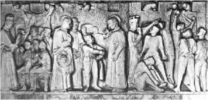bassorilievo S. Pio X