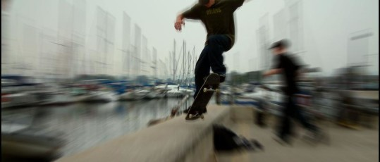 ragazzi skateboard