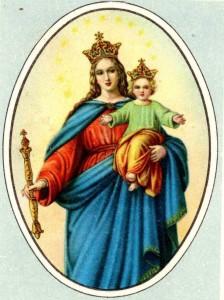 Preghiera mariana - La Vergine Maria nelle chiese e nelle basiliche romane