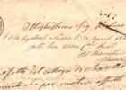 Lettera da Roma del 1884
