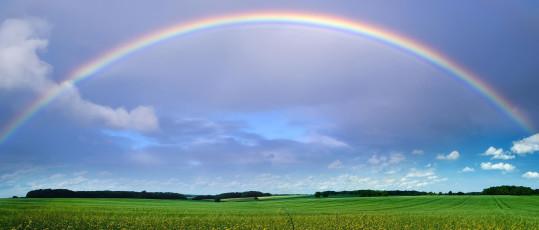 Real-rainbow