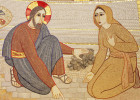 """""""Chi di voi è senza peccato, scagli la prima pietra contro di lei"""""""