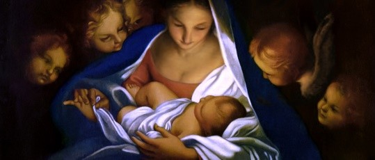 The Holy Night by Carlo Maratta
