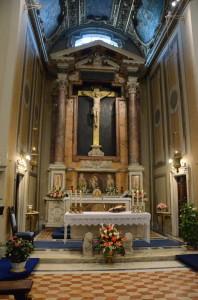 Cappella del Santissimo nella Basilica di San Giovanni in Laterano - Roma