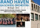 "Concerto della ""Grand Haven High school Orchestra"""