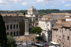 S. Nicola in carcere, Teatro Marcello, Portico di Ottavia e Ghetto ebraico