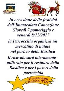 Mercatino di Natale @ Basilica di S. Giovanni Bosco