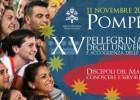 11 novembre: XV Pellegrinaggio degli universitari e accoglienza delle matricole