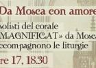 """""""Magnificat"""": un coro russo accompagna le nostre liturgie"""