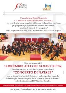 """Rassegna """"concerti in anteprima"""" - Concerto di Natale @ Cripta della Basilica"""