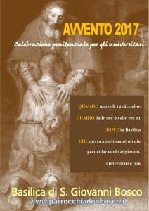 Liturgia penitenziale di Avvento @ Basilica di S. Giovanni Bosco