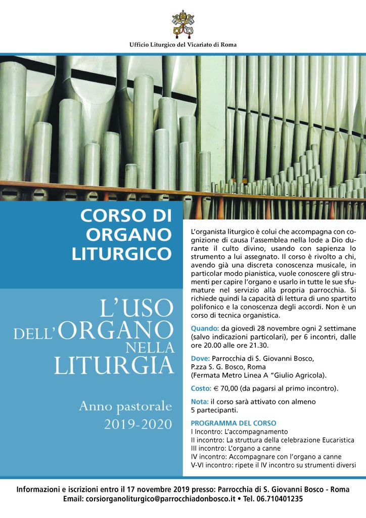Organo liturgico 19-20