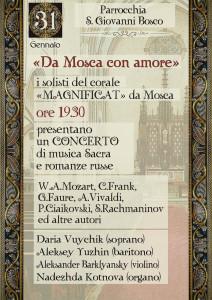 """Festa di S. Giovanni Bosco - Concerto """"Magnificat"""" @ Basilica di S. Giovanni Bosco"""