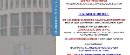 Appuntamenti Don Bosco - 8 dicembre