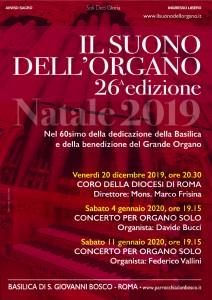 Concerto per organo solo @ Basilica di S. Giovanni Bosco