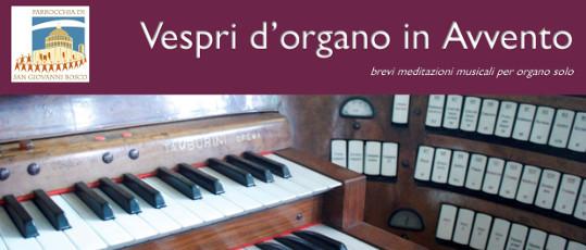 Vespri organo 2019r