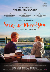 Sorry We Missed You by Ken Loach @ Cineteatro Don Bosco
