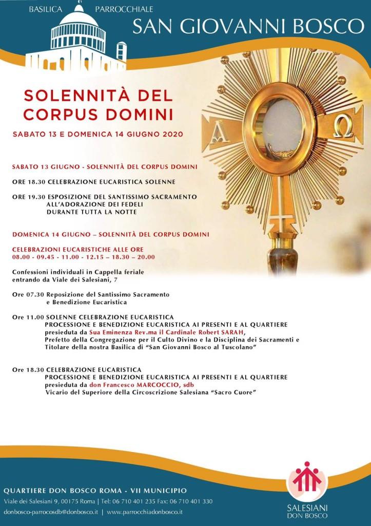 Corpus Domini 2020