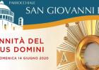 Solennità del Corpus Domini 2020