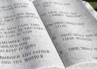 Corso sulle Dieci Parole (Dieci comandamenti)